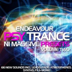 Endeavour Psytrance for NI Massive 2 NMSV