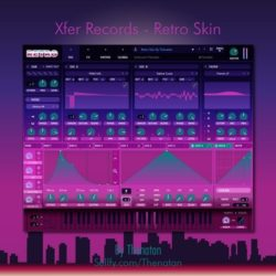 Thenatan Xfer Records Retro [Seum Skin]