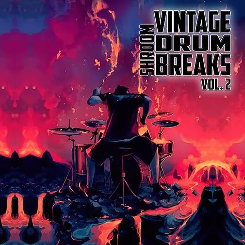 Shroom Vintage Drum Breaks Vol 2 WAV - Freshstuff4you