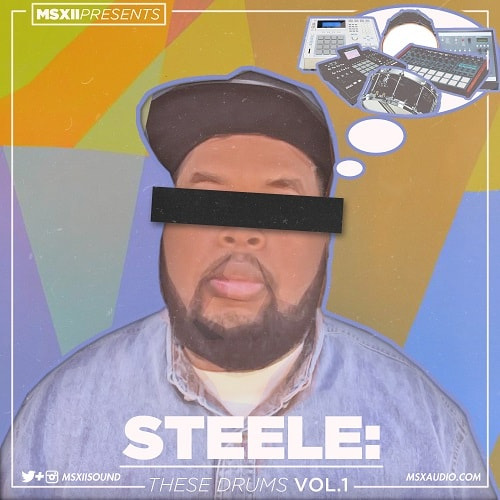 MSXII Steele These Drums Vol.1 WAV