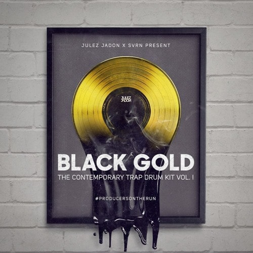 JJ Black Gold: The Contemporary Trap Drum Kit Vol. 1 WAV