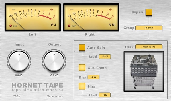 HoRNet Tape v1 1 3 WIN & MAC [VST VST3 AU AAX] - Freshstuff4you