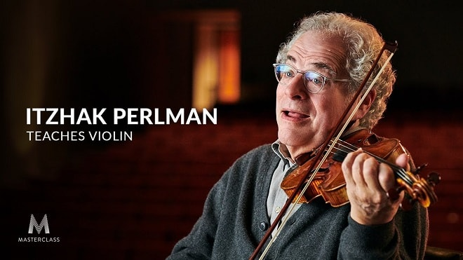 MasterClass Itzhak Perlman Teaches Violin TUTORIAL