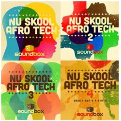 SB Nu Skool Afro Tech Vol.1-4 Bundle WAV