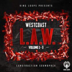 King oops West Coast L.A.W. Bundle (Vol.1-3) WAV MIDI