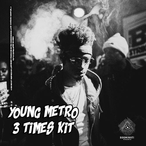 Manu Young Metro 3 Times (Drum Kit) WAV FLP - Freshstuff4you