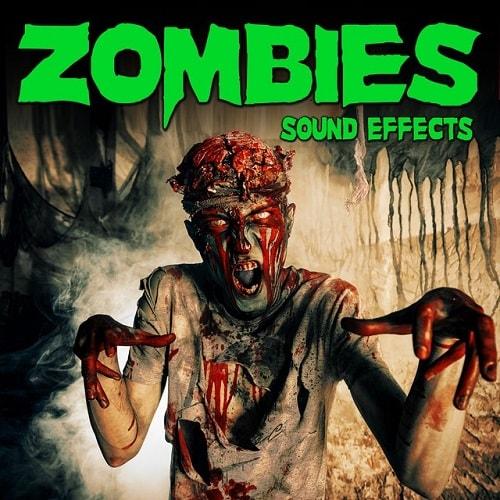 Sound Ideas Zombies Sound Effects [Hot Ideas 2019] (Wav)