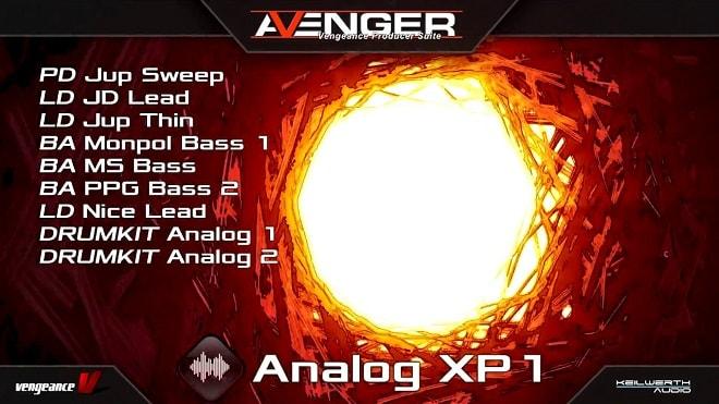 Vengeance Sound Avenger Expansion pack: Analog Synth
