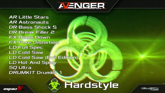 Vengeance Sound Avenger Expansion pack Hardstyle 1 (UNLOCKED)