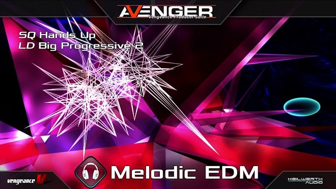 Vengeance Sound Avenger Melodic EDM Expansion