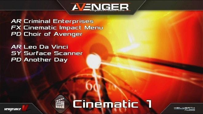 Vengeance Sound Avenger Expansion pack: Cinematic 1