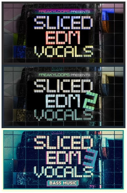 FL Sliced EDM Vocals Vol.1-3 WAV