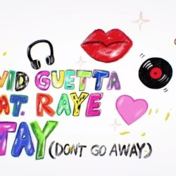 David Guetta ft Raye - Stay (Don't Go Away) [Acapella & Instrumental]