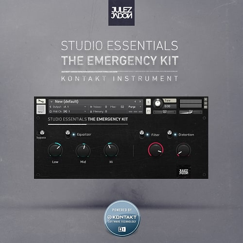 Studio Essentials: The Emergency Kit [WAV & Kontakt Format