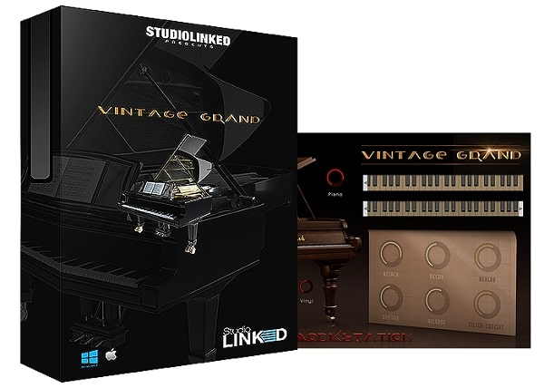 StudioLinked Vintage Grand PC & MAC - Freshstuff4you