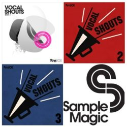 Sample Magic SM101 Vocal Shouts 1-3 Bundle WAV
