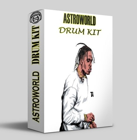 Midasik12 ASTROWORD DRUM KIT WAV FLP