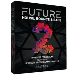 TEAMMBL Future House, Bounce & Bass Vol. 2 For Serum
