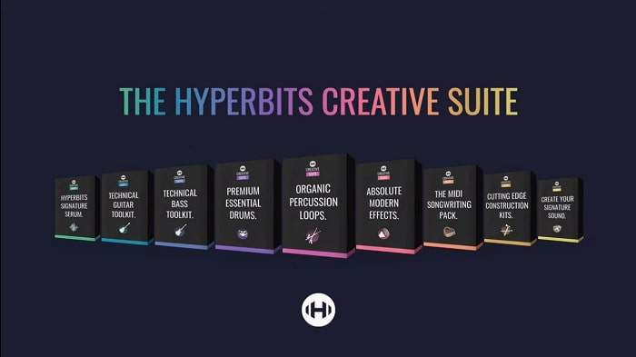 Hyperbits Creative Suite WAV MIDI Serum TUTORiAL-DECiBEL