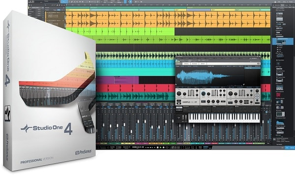 PreSonus Studio One 4 Professional v4.5.3 WIN & MacOSX