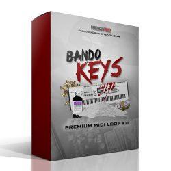 "Producer Grind THE ""Bando Keys"" PREMIUM MIDI & WAV LOOP KIT"