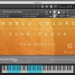Evolution Series World Colors Clar-Duduk KONTAKT