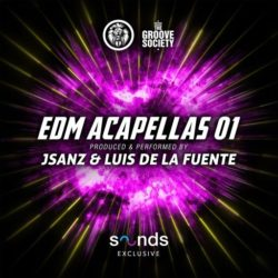 The Groove Society EDM Acapellas Vol. 1 WAV