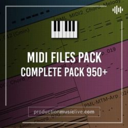Production Music Live MIDI COMPLETE PACK