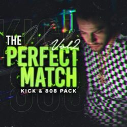IndustryKits THE PERFECT MATCH Vol 2 [Kick & 808 Pack] WAV
