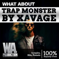 W. A. Production - What About Trap Monster By Xavage WAV Presets