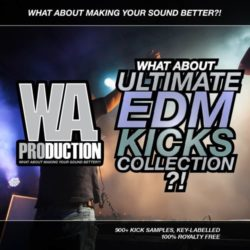 WA Production Ultimate EDM Kicks Collection WAV