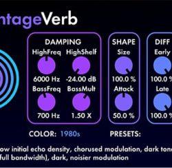 Valhalla DSP Valhalla VintageVerb 2.0.2 WIN & MacOSX