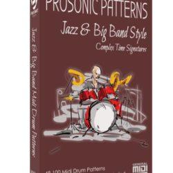 Prosonic Studios Midi Grooves Jazz & Big Band Midi Drum Library