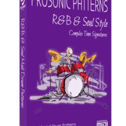 Prosonic Studios Midi Grooves R&B & Soul Midi Drum Library