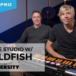 In The Studio With Goldfish TUTORIAL