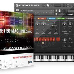 NI Retro Machines MK2 Kontakt Library