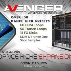 RDGAudio Dance Kicks VPS Avenger Expansion