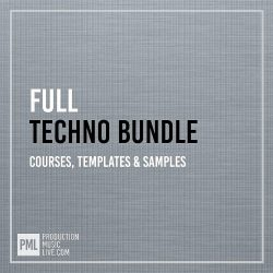 PML Techno Bundle (Ableton Templates)
