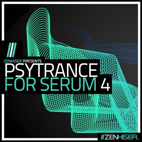 Zenhiser Psytrance For Serum 4 WAV MIDI FXP-DECiBEL