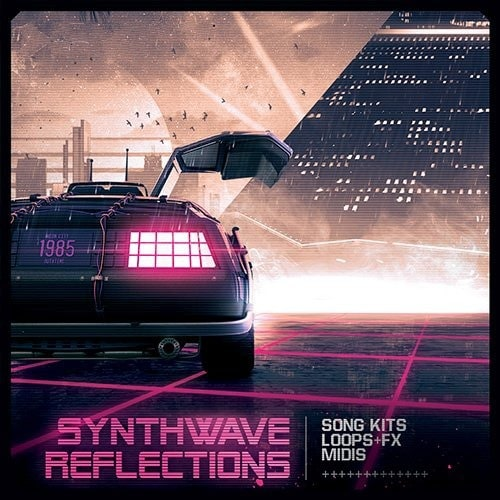 Synthwave Reflections Sample Pack WAV MIDI
