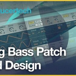Analog Bass Patch Sound Design TUTORIAL