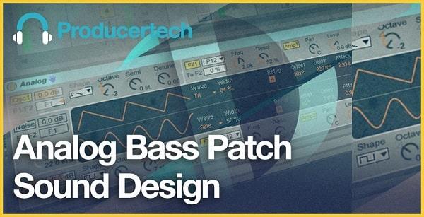 Analog Bass Patch Sound Design TUTORIAL
