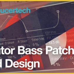 Operator Bass Patch Sound Design TUTORIAL