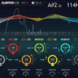 SurferEQ 2 v2.0.5 VST VST3 AAX [WIN]