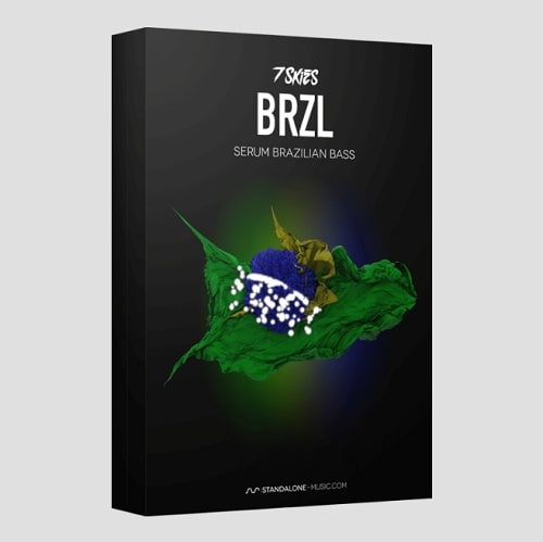 Standalone-Music BRZL - BRAZILIAN BASS Presets For Serum By 7 SKIES