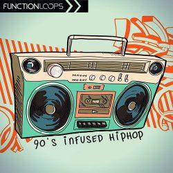 90's Infused Hiphop Sample Pack WAV MIDI