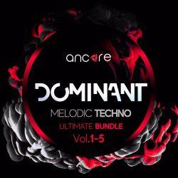 Ancore Sounds DOMINANT Melodic Techno Bundle Vol. 1 - 5
