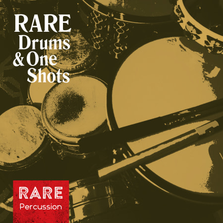 RARE Percussion Drums & One Shots WAV