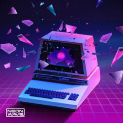 Neon Wave Elements & Patterns: Progressive Synthwave WAV MIDI