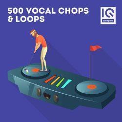 IQ Samples 500 Vocal Chops & Loops MULTIFORMAT